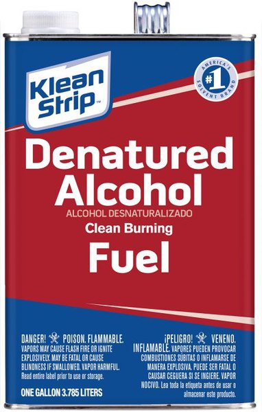 Difference Between Mineral Spirits and Denatured Alcohol