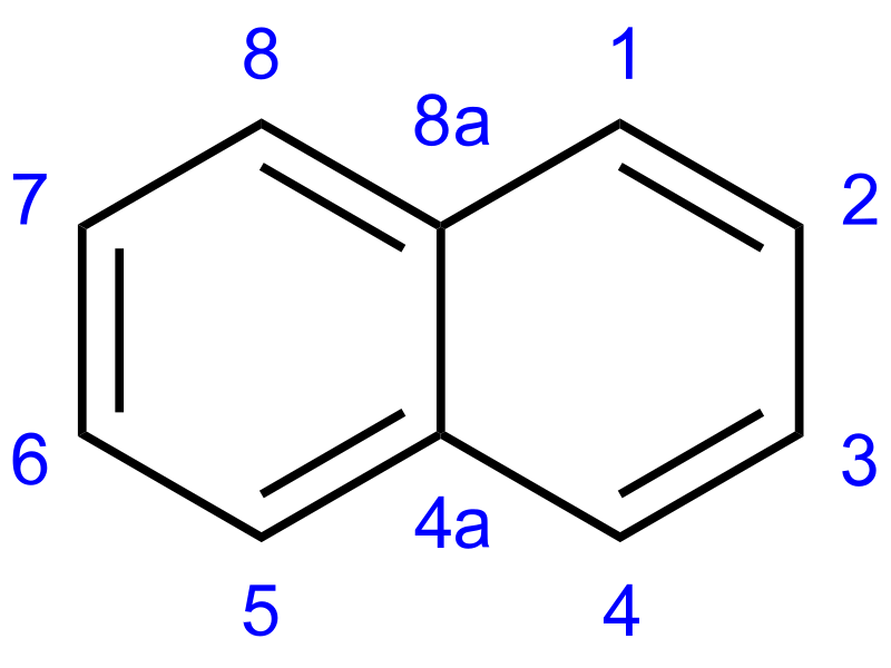 Difference Between Naphthalene and p-Dichlorobenzene