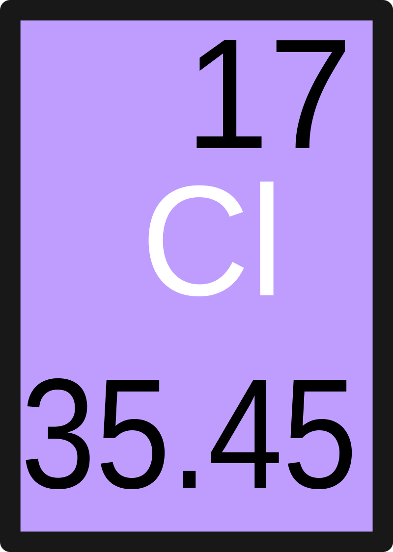 Main Difference - Chlorine 35 vs 37