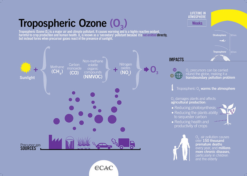 Tropospheric Ozone - Composition and Formation
